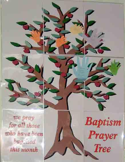 Baptism Prayer Tree